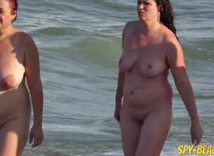 Mature wife nude beach