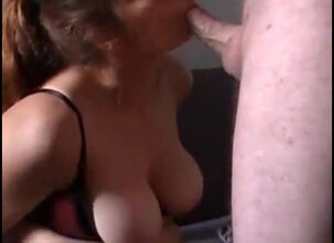 Cum in milf mouth