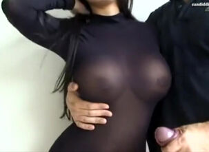 Big tit asian milf