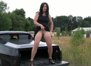 Outdoors milf