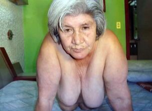 Naked mature woman